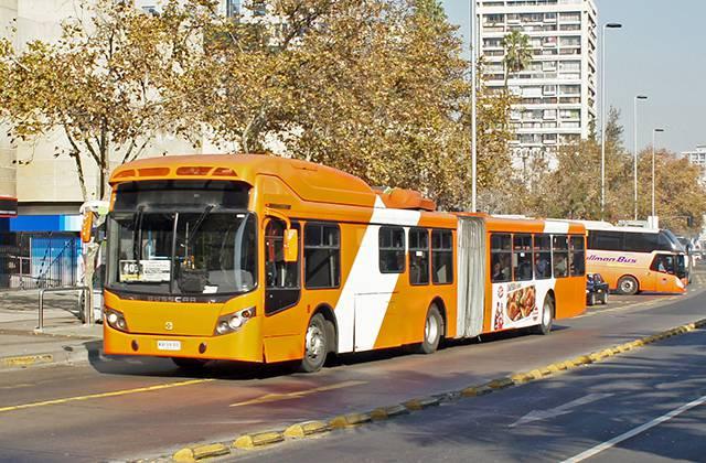 Transporte en Santiago de Chile