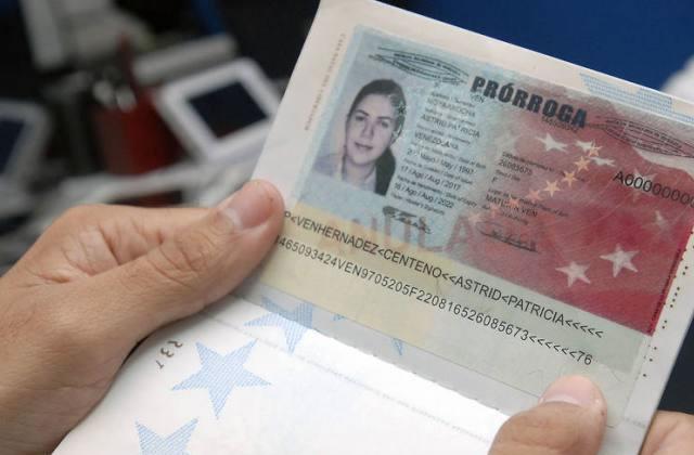 Como solicitar prórroga de pasaporte