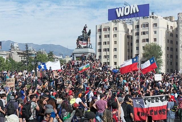 Venezolanos opinan de la crisis social en Chile